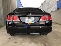 Cần bán Honda Civic năm 2008, màu đen chính chủ, giá tốt