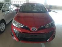 Bán ô tô Toyota Vios E năm 2019, màu đỏ, 506tr