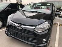 Bán Toyota Wigo G sản xuất 2019, màu đen, nhập khẩu, 405tr
