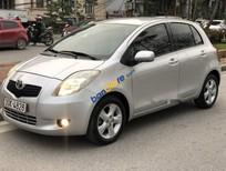 Cần bán xe Toyota Yaris sản xuất 2007, màu bạc, nhập khẩu