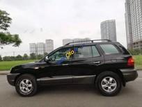 Cần bán xe Hyundai Santa Fe Gold năm 2004, màu đen, nhập khẩu
