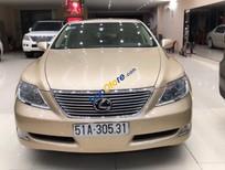 Bán xe Lexus LS 460L năm sản xuất 2007, màu vàng, xe nhập