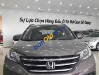 Cần bán xe Honda CR V 2.0 AT sản xuất năm 2013, màu xám, 699tr