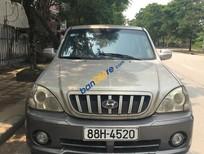 Bán xe cũ Hyundai Terracan G năm 2004, màu ghi vàng, nhập khẩu