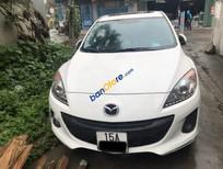 Cần bán lại xe Mazda 3 sản xuất 2014, màu trắng xe gia đình