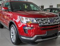 Bán Ford Explorer sản xuất 2019, màu đỏ, xe nhập