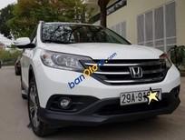 Cần bán gấp Honda CR V 2.4AT năm sản xuất 2013, màu trắng số tự động