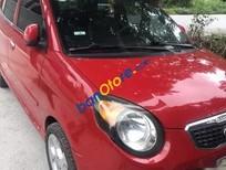 Bán ô tô Kia Morning AT năm 2008, màu đỏ, gia đình đi giữ gìn cẩn thận nguyên bản còn rất mới
