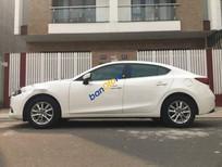 Bán Mazda 3 1.6 AT năm sản xuất 2017, màu trắng, nhập khẩu, chính chủ ít sử dụng