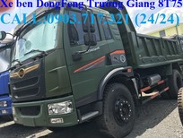 Xe Ben Dongfeng TG 8.75T sản xuất 2017, màu xanh lam