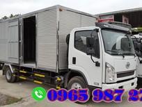 Bán FAW xe tải thùng sản xuất 2019, màu trắng, nhập khẩu nguyên chiếc giá cạnh tranh