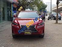 Xe Lexus NX 200t sản xuất năm 2015, màu đỏ, nhập khẩu