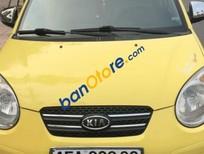 Bán Kia Morning AT năm sản xuất 2008, màu vàng xe gia đình