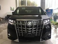 Bán ô tô Toyota Alphard Luxury V6 2018, màu đen, nhập khẩu nguyên chiếc