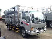 Xe tải JAC 2T4 tùng dài 4m3 giá khuyến mãi. Hỗ trợ vay cao