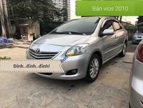 Cần bán Toyota Vios E năm 2010, màu bạc, giá chỉ 275 triệu