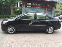 Cần bán xe Toyota Vios 1.5 E sản xuất 2012, màu đen số sàn