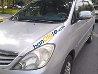Cần bán xe Toyota Innova J sản xuất 2008, màu bạc