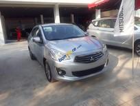 Bán xe Mitsubishi Attrage 1.2L MT Eco - CVT sản xuất 2019, màu bạc, nhập khẩu