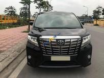 Bán xe Toyota Alphard Executive Lounge sản xuất năm 2015, màu đen, xe nhập ít sử dụng
