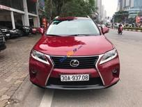 Bán Lexus RX 350 năm sản xuất 2009, màu đỏ, nhập khẩu