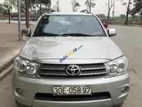 Cần bán xe Toyota Fortuner 2.7V 4x4 AT 2010, màu bạc