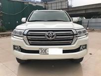 Bán Toyota Land Cruiser VX 2016, màu trắng, xe nhập Nhật, xe siêu đẹp