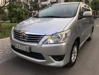 Bán Toyota Innova MT sản xuất năm 2013, màu bạc, giá 508tr