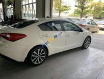 Cần bán gấp Kia K3 2.0 AT sản xuất năm 2014, màu trắng xe gia đình