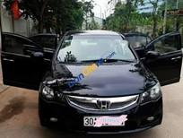 Cần bán lại xe Honda Civic năm sản xuất 2010, màu đen