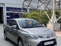 Cần bán Toyota Vios 1.5E MT sản xuất 2017, màu xám, giá tốt