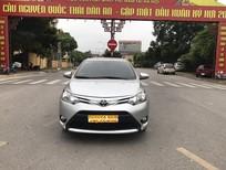 Cần bán xe Toyota Vios 1.5 G 2016, màu bạc