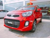 Bán ô tô Kia Morning S AT năm sản xuất 2019, màu đỏ, giá chỉ 388 triệu