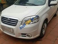 Xe Daewoo Gentra sản xuất năm 2009, màu trắng