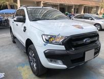 Bán Ford Ranger Wildtrak năm 2017, màu trắng, xe nhập