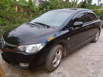 Bán xe Honda Civic đời 2008, màu đen