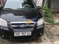 Bán xe cũ Daewoo Gentra sản xuất năm 2008, màu đen, giá tốt