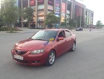 Bán xe cũ Mazda 3 1.6AT, năm 2004, màu đỏ mận