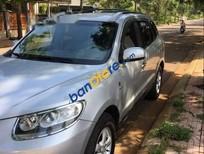 Cần bán lại xe Hyundai Santa Fe 2.2AT 4WD sản xuất 2007, màu bạc, nhập khẩu