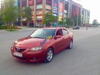 Cần bán xe Mazda 3 1.6AT năm sản xuất 2004, màu đỏ xe gia đình