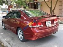 Xe Honda Civic 2.0 sản xuất năm 2009, màu đỏ, giá chỉ 390 triệu