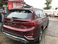 Bán xe Hyundai Santa Fe sản xuất 2019, màu trắng, nhập khẩu chính hãng