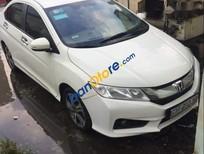 Cần bán xe Honda City 1.5 CVT sản xuất 2015, màu trắng, giá tốt
