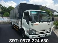Xe tải Isuzu Vĩnh Phát 1.9 tấn thùng 6.2m, chuyên chở hàng cồng kềnh
