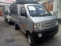 Bán xe tải Dongben thùng bạt tôn kẽm 810kg