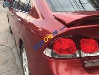 Cần bán lại xe Honda Civic năm sản xuất 2009, màu đỏ