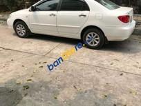 Cần bán gấp Toyota Corolla altis 1.8G sản xuất 2002, màu trắng