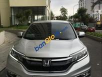 Cần bán lại xe Honda CR V 2.0 sản xuất 2016, màu bạc