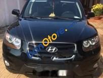 Cần bán xe Hyundai Santa Fe SLX năm 2009, màu đen còn mới, 650tr