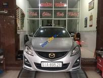 Bán ô tô Mazda 6 sản xuất năm 2012, màu bạc, nhập khẩu Nhật Bản, giá chỉ 550 triệu